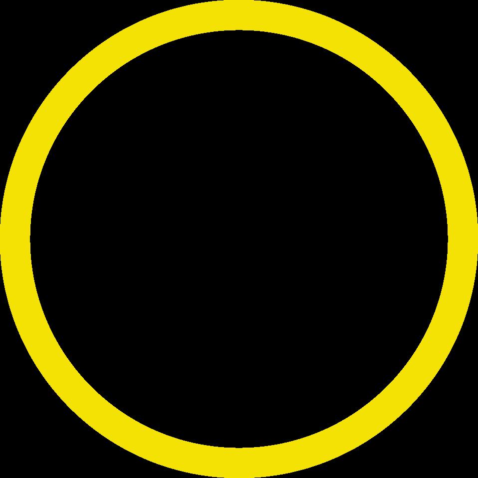 Círculo amarelo