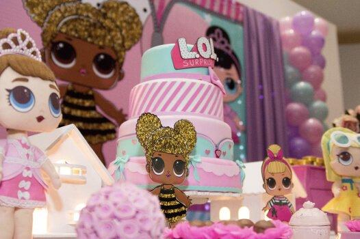 Decoração de festa para meninas